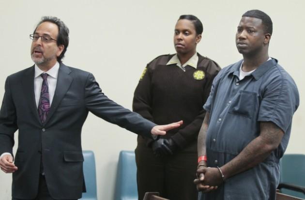 El arresto domiciliario de Gucci Mane parece haber llegado a su fin