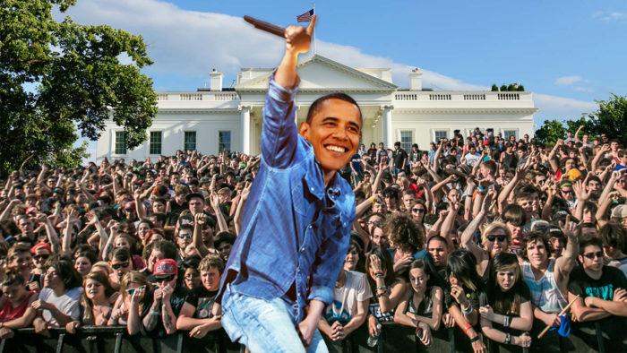 Obama está montando su propio festival de música en la Casa Blanca