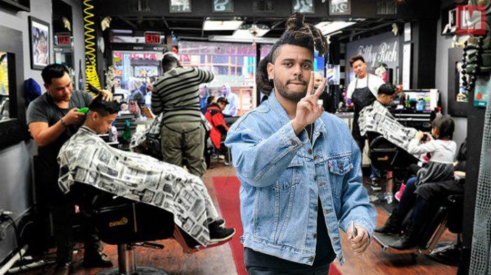 El nuevo corte de pelo de The Weeknd está dando mucho de qué hablar
