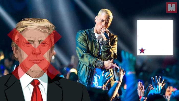 Eminem ataca a Trump durante ocho minutos en 'Campaign Speech'