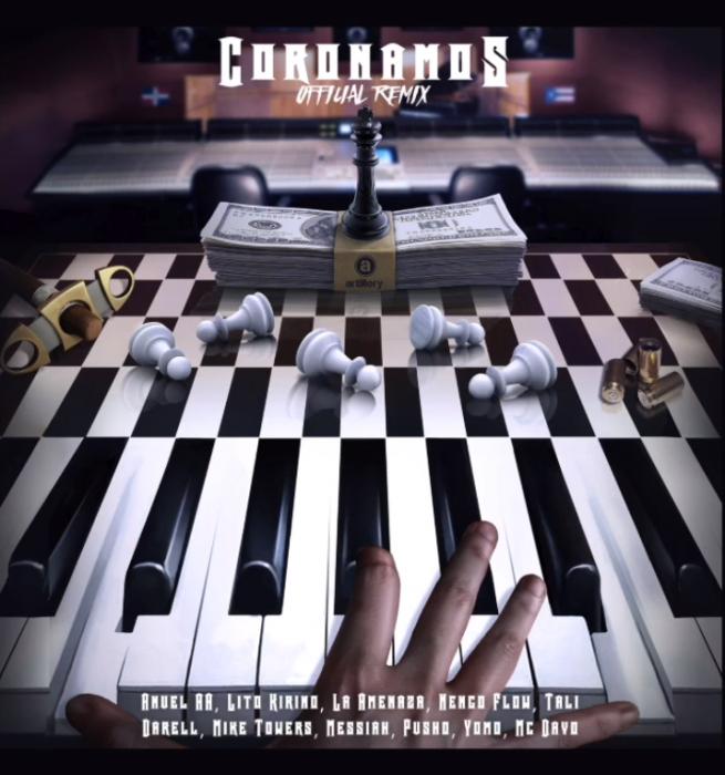 Lito Kirino reúne hasta a once artistas en el remix de 'Coronamos'