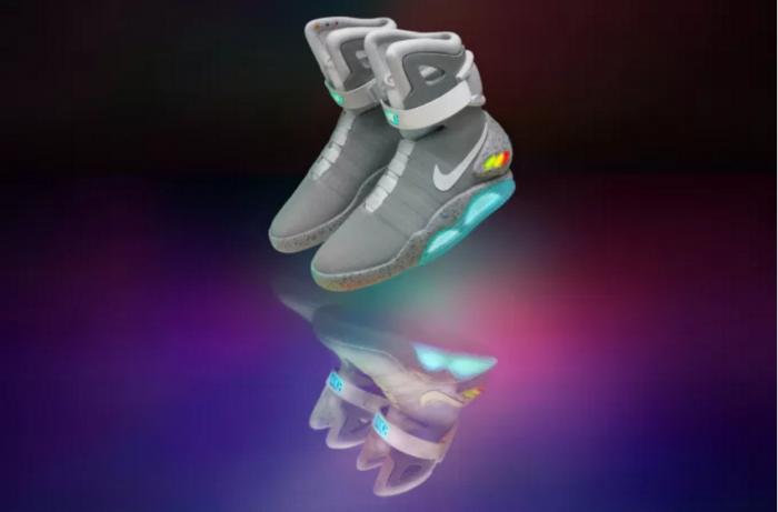 Las sorprendentes Nike Mag que se atan solas ya son una realidad