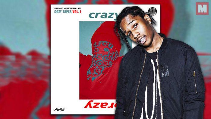 'Crazy Brazy' es lo nuevo de A$AP Rocky junto a A$AP Twelvyy y Key!