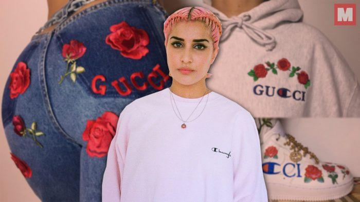 Ava Nirui lleva la moda de lujo al siguiente nivel con sus collages