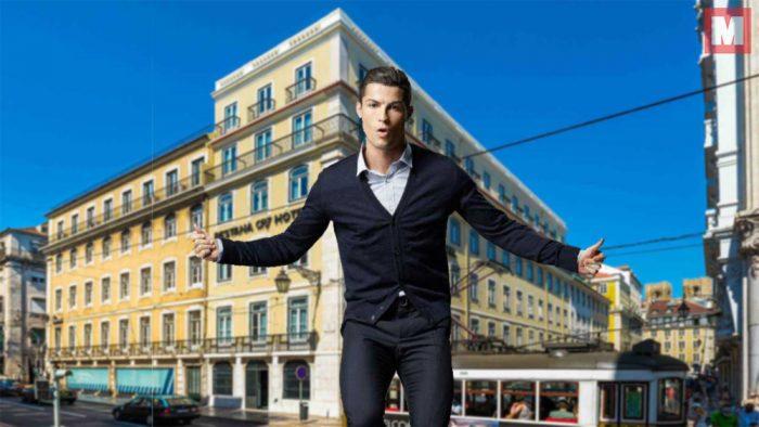 Cristiano Ronaldo abre su nuevo hotel en Lisboa