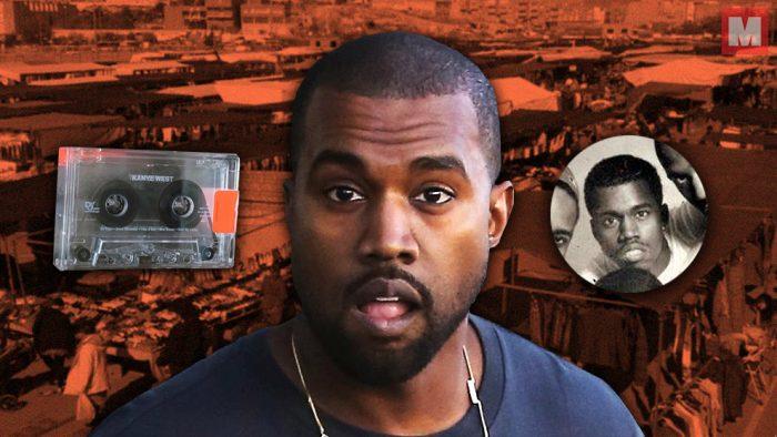 Descubren un tema inédito de Kanye West en una cinta de mercadillo