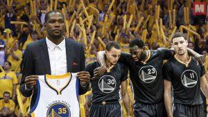 Kevin Durant está contento de que los Warriors perdieran las finales