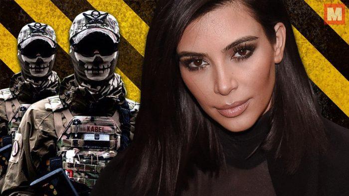 Apuntan a Kim Kardashian con una pistola y Kanye West se retira en pleno concierto