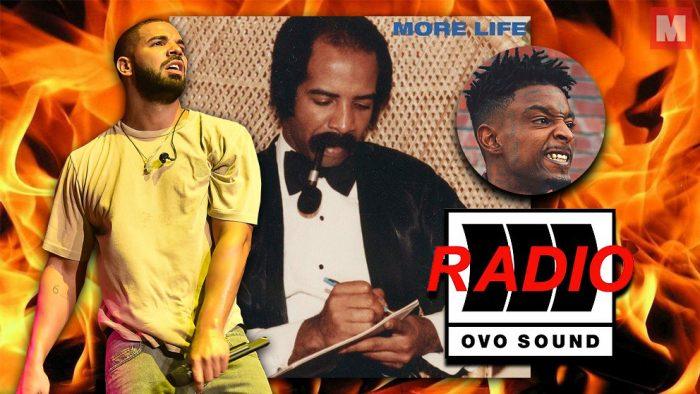 Drake lanza 4 temas nuevos y anuncia su nuevo proyecto 'More Life'