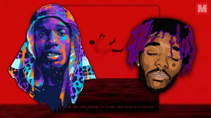 A$AP Rocky y Lil Uzi Vert lanzan el remix de 'New Level'