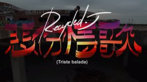 Recycled J cierra 'S.A.D.' con el videoclip de 'Triste Balada'