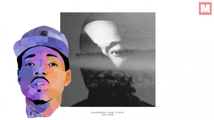 John Legend y Chance The Rapper derrochan estilo en 'Penthouse Floor'