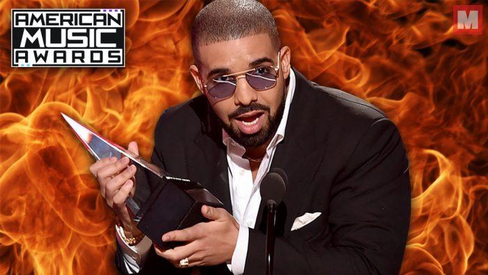 Drake arrasa con todo en los American Music Awards 2016