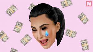Kim Kardashian pierde millones de dólares por su ausencia en las redes sociales