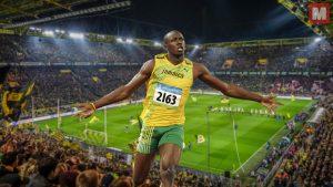 Usain Bolt está planeando acabar su retiro y ser futbolista profesional