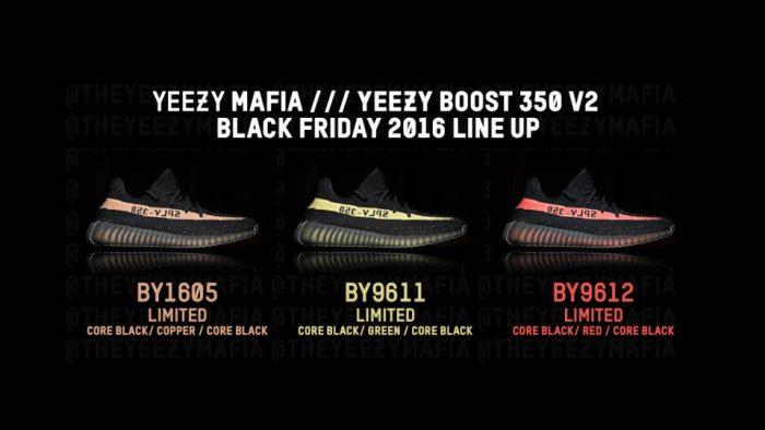 Se confirman las Adidas YEEZY 350 V2 en tres colores distintos