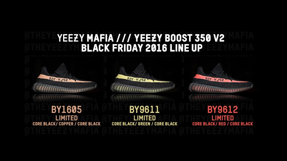 Se confirman las Adidas YEEZY 350 V2 en tres colores distintos - The ... e4a89113b