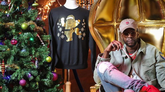 2 Chainz ha vendido el jersey navideño más hortera por 90 mil dólares
