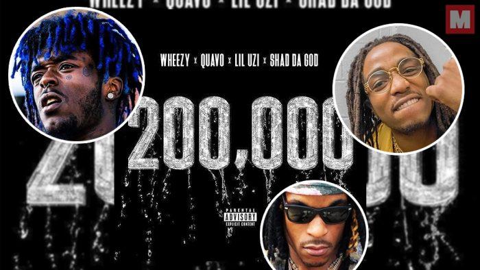 Quavo, Lil Uzi Vert y Shad Da God forman equipo en el single '200,000'