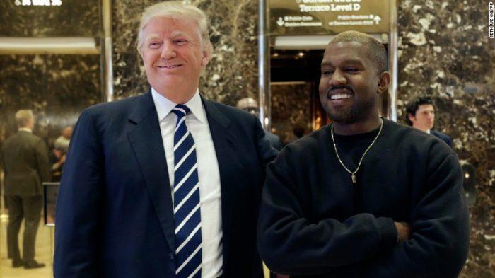 Kanye West y Donald Trump se ven las caras en Nueva York