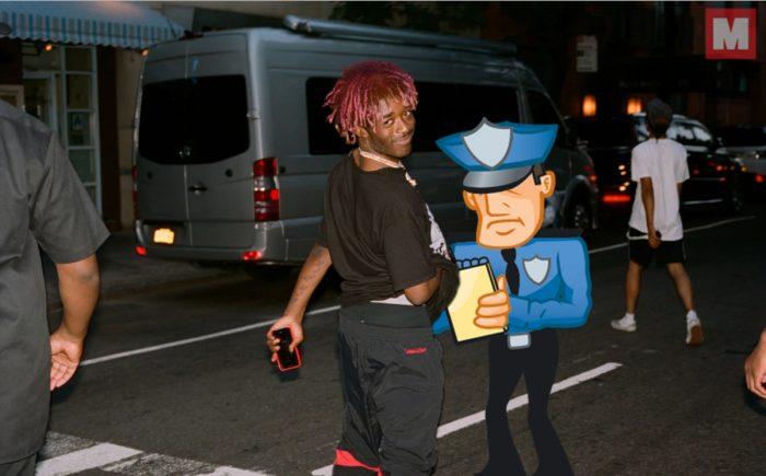 Lil Uzi Vert ha sido arrestado por liarla en la carretera
