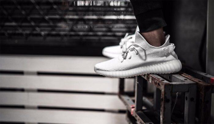 Así lucirán las nuevas Adidas YEEZY Boost 350 V2 'All White'