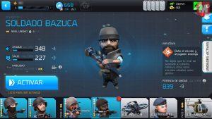 bazuca 300x169 - La viciada del mes: analizamos el juego para móviles 'Warfriends'