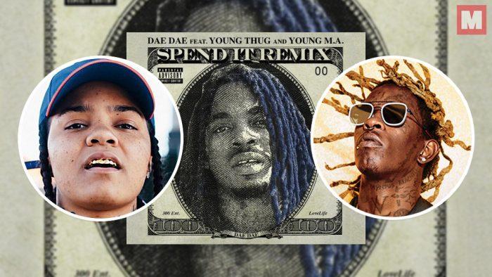 Young M.A y Young Thug se unen en el remix del 'Spend It' de Dae Dae