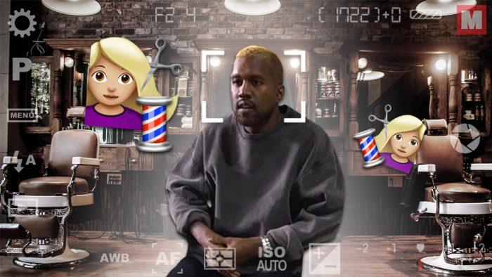 Kanye West reaparece en público con el pelo rubio