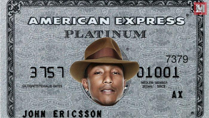 Pharrell Williams es nombrado director creativo de American Express
