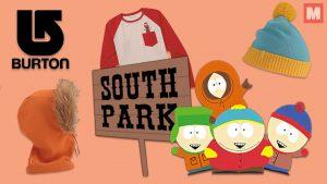 South Park y Burton se unen para lanzar una increíble colección de ropa