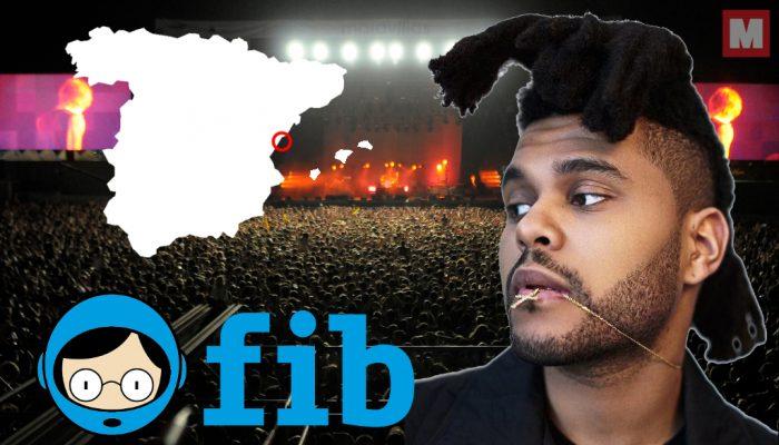 The Weeknd visitará España para ser un cabeza de cartel en el FIB 2017