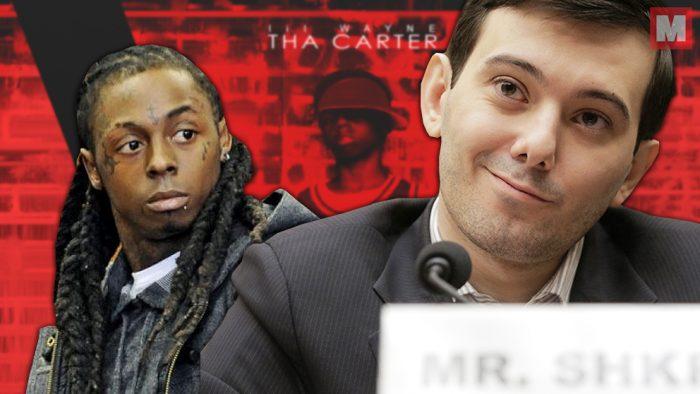 Martin Shkreli filtra un tema inédito del 'Tha Carter V' de Lil Wayne