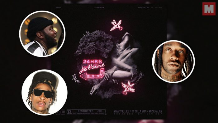 24hrs une fuerzas con Wiz Khalifa y Ty Dolla $ign en 'What You Like'