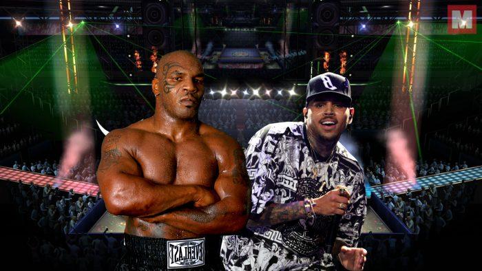 Mike Tyson entrena a Chris Brown para la pelea ante Soulja Boy