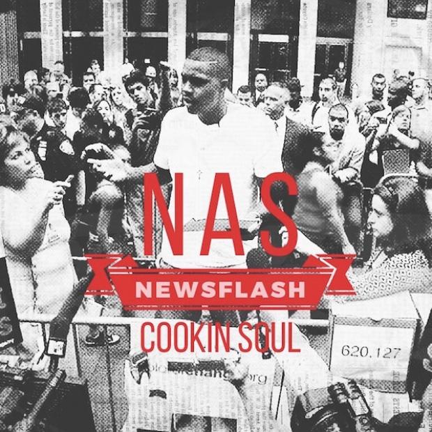 Cookin Soul y Nas dan rienda suelta a la política en 'Newsflash'