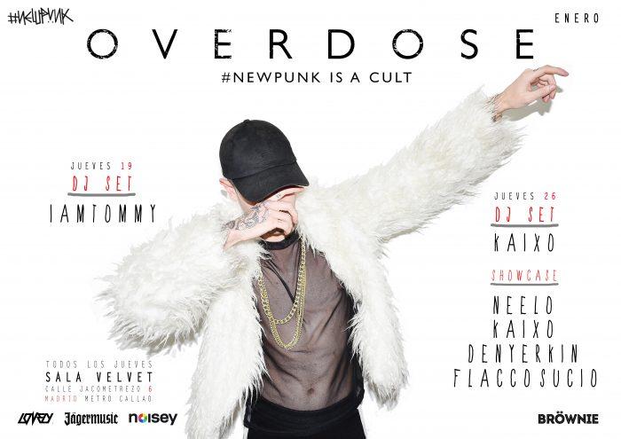 Overdose madrid enero 1 700x495 - Madrid ya tiene la fiesta que necesitaba: OVERDOSE todos los jueves