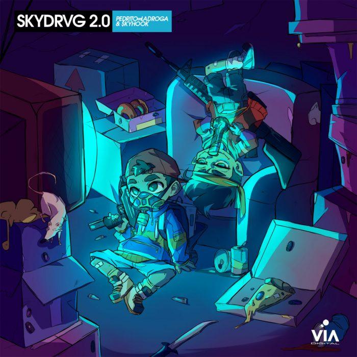 Pedro LaDroga y $kyhook vuelven con 'ViA DIGITAL (Skydrvg 2.0)' tres años después