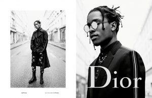 A$AP Rocky representa la campaña primavera/verano 2017 de Dior