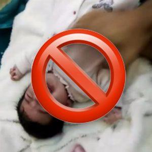 Instagram se vuelca contra un hombre que maltrata a un bebé