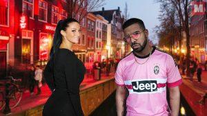 Pillan a Drake cenando con una actriz porno en Ámsterdam