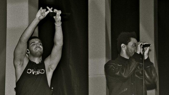 ¿Están Drake y The Weeknd de vuelta en el estudio?
