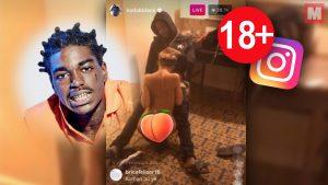 Kodak Black y su banda reciben sexo oral en un directo de Instagram