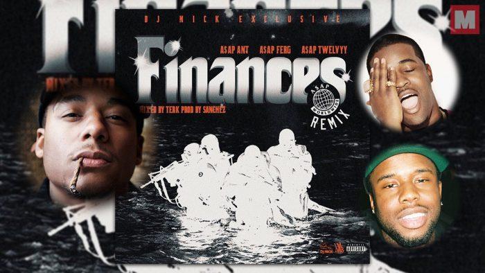 A$AP Ferg, A$AP Ant y A$AP Twelvyy remixean el single 'Finances'