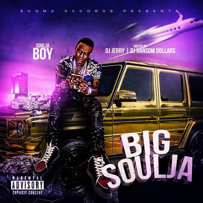 Soulja Boy publica de forma gratuita su nueva mixtape 'Big Soulja'