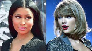 Nicki Minaj se ríe de Taylor Swift al batir su récord en el Hot 100 de Billboard