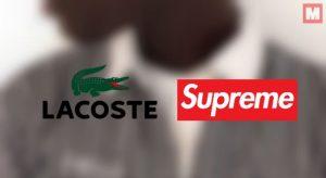 Supreme x Lacoste: el próximo «boom» en el mundo de la moda