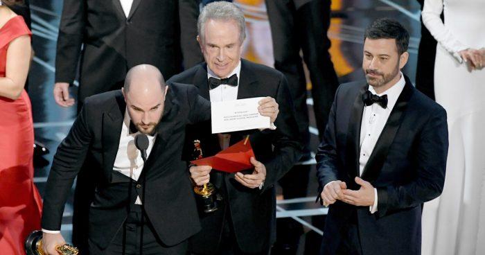 Un error en la entrega de los Oscar ha dado la vuelta al mundo