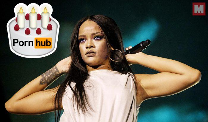Pornhub felicita a Rihanna por su cumpleaños y demuestra que su relación sigue intacta
