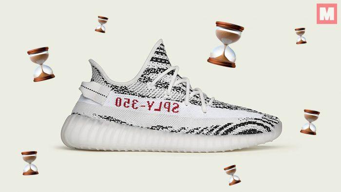 Todo sobre el inminente lanzamiento de las Yeezy Boost 350 V2 'Zebra'